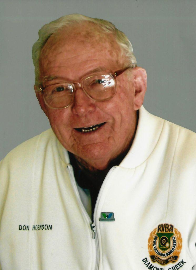 Donald George Robinson .